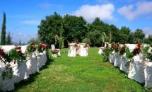 Allestimento per matrimonio outdoor